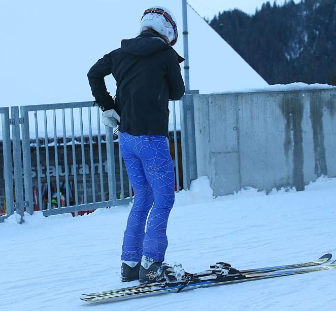 Pippa Middleton Skiing in Switzerland -24