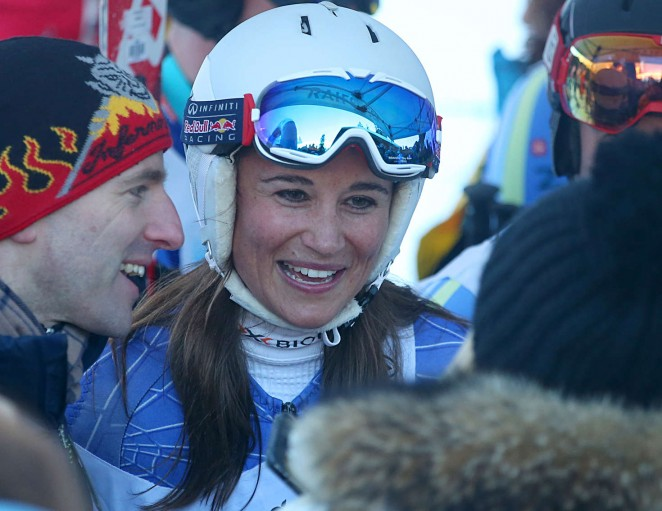 Pippa Middleton Skiing in Switzerland -32