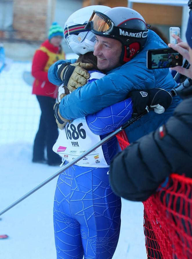 Pippa Middleton Skiing in Switzerland -42