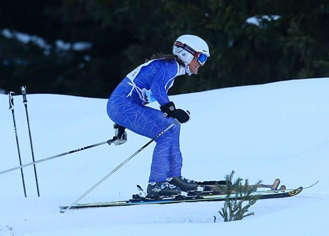 Pippa Middleton Skiing in Switzerland -43
