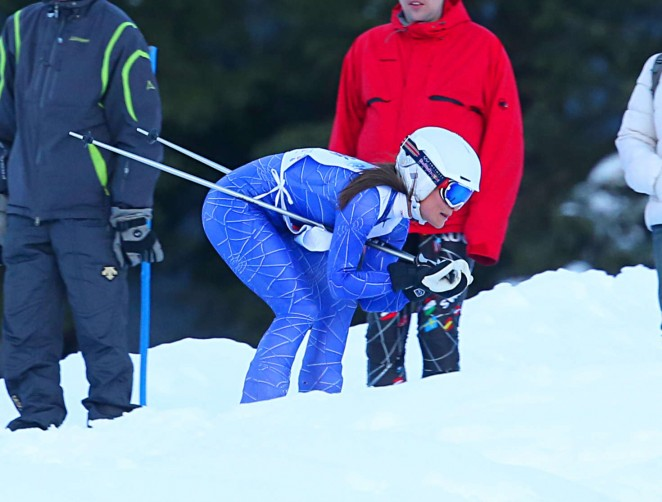 Pippa Middleton Skiing in Switzerland -56