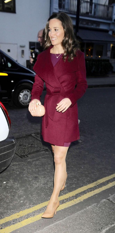 Pippa Middleton in Short Dress -17