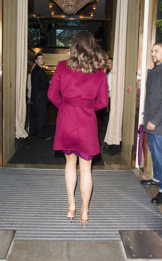 Pippa Middleton in Short Dress -31
