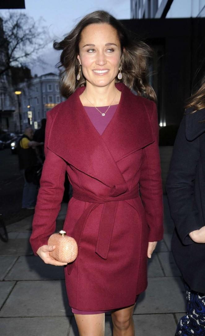 Pippa Middleton in Short Dress -33
