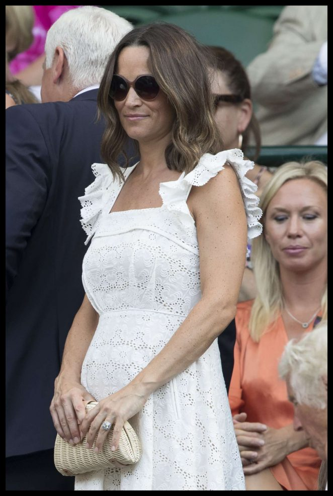 Pippa Middleton – Wimbledon Championship Tennis 2018 in London