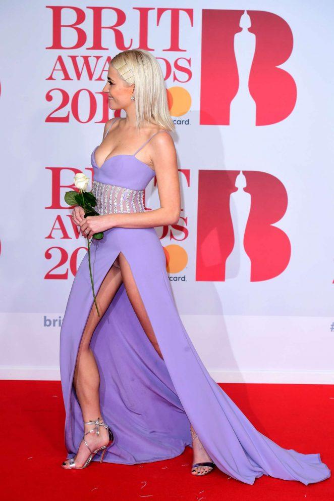 Pixie Lott: 2018 Brit Awards -04