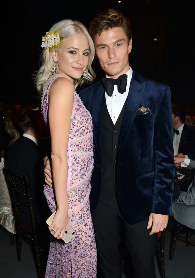 Pixie Lott and Oliver Cheshire - Attitude Magazine Pride Awards 2017 in London