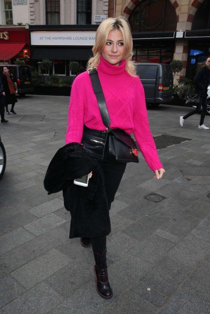 Pixie Lott – Arrives at Global Radio studios in London