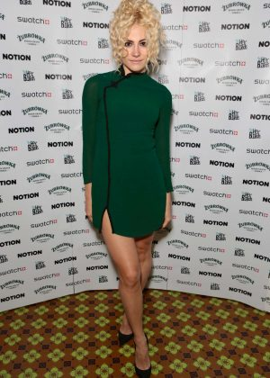 Pixie Lott at notionmagazine.com re-launch party in London