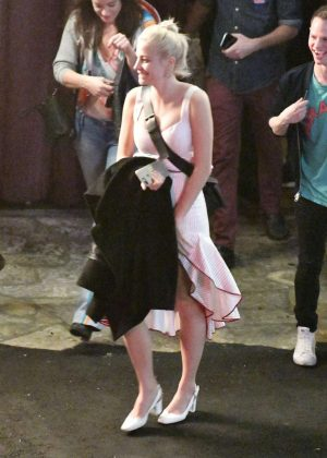 Pixie Lott at The Bayou in West Hollywood