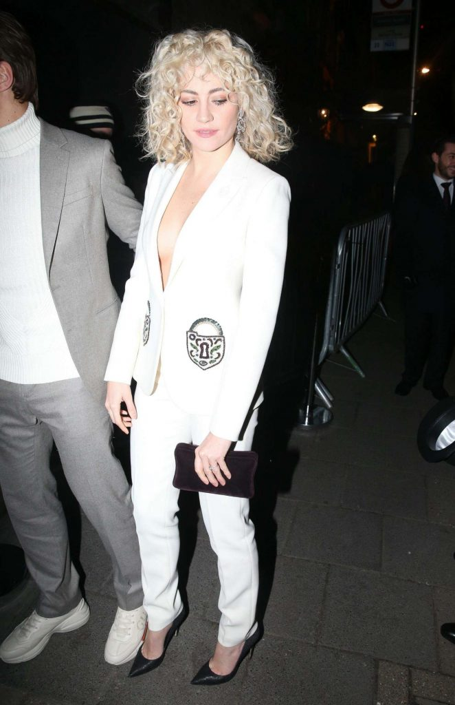 Pixie Lott - British Vogue Fashion and Film Party 2018 in London