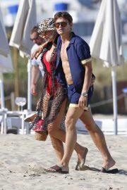 Pixie Lott - Candids in Ibiza