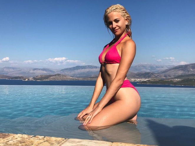 Pixie Lott in Bikini - Personal Pics