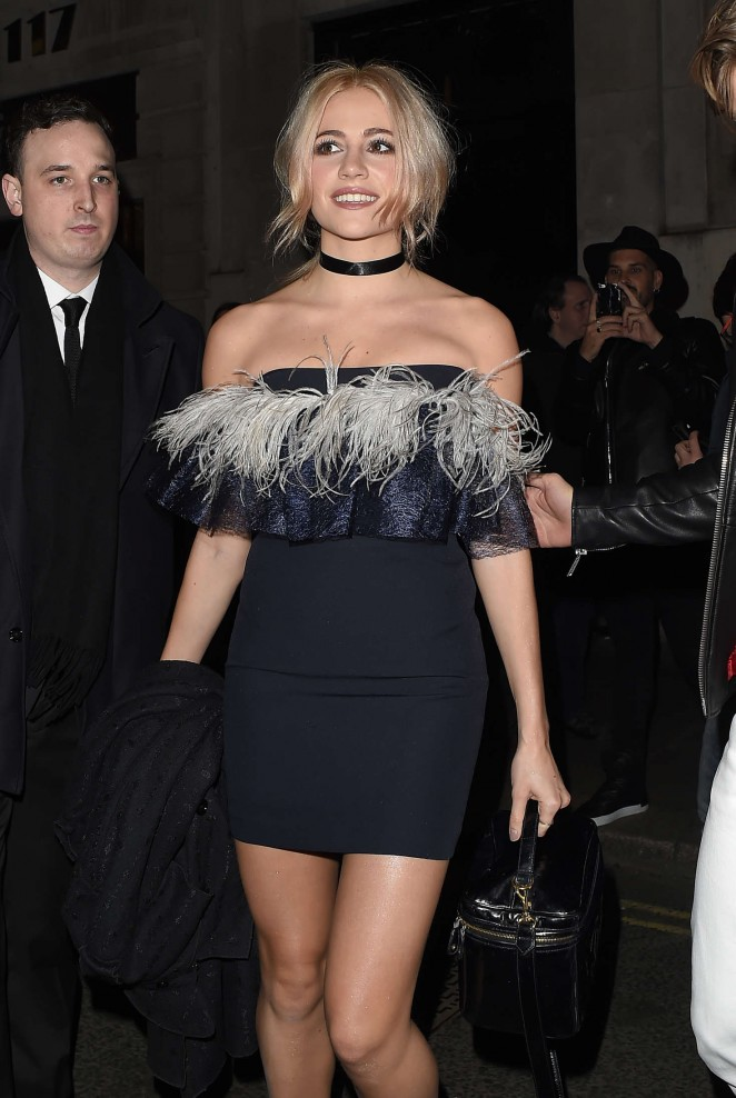 Pixie Lott - InStyle and EE Rising Star pre-BAFTA Party in London