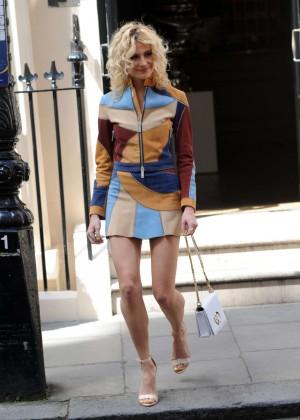 Pixie Lott - Leaves the Haymarket Hotel in London