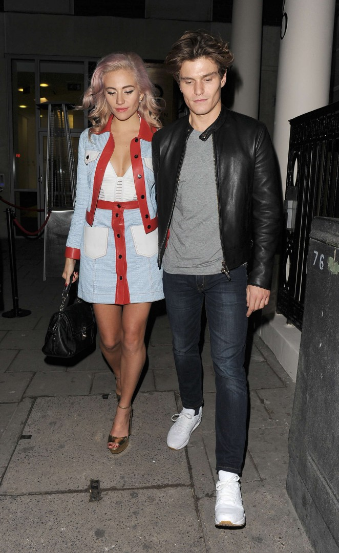 Pixie Lott: Leaving Tape Nightclub -10