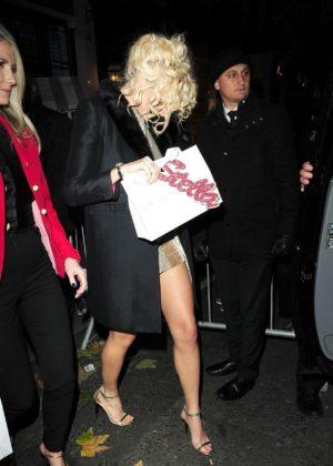 Pixie Lott - Leaving the Stella McCartney store in London