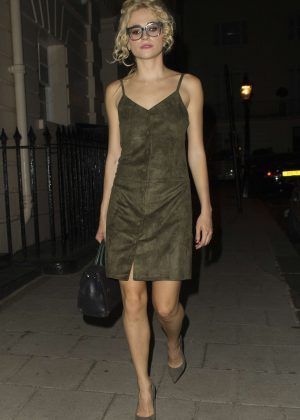Pixie Lott - Leaving the Theatre Royal Haymarket in London