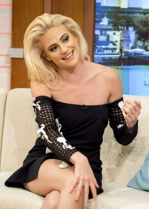 Pixie Lott on 'Good Morning Britain' in London