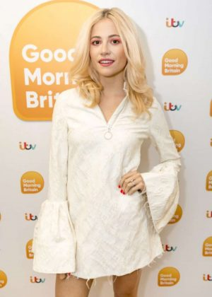 Pixie Lott on 'Good Morning Britain' TV Show in London