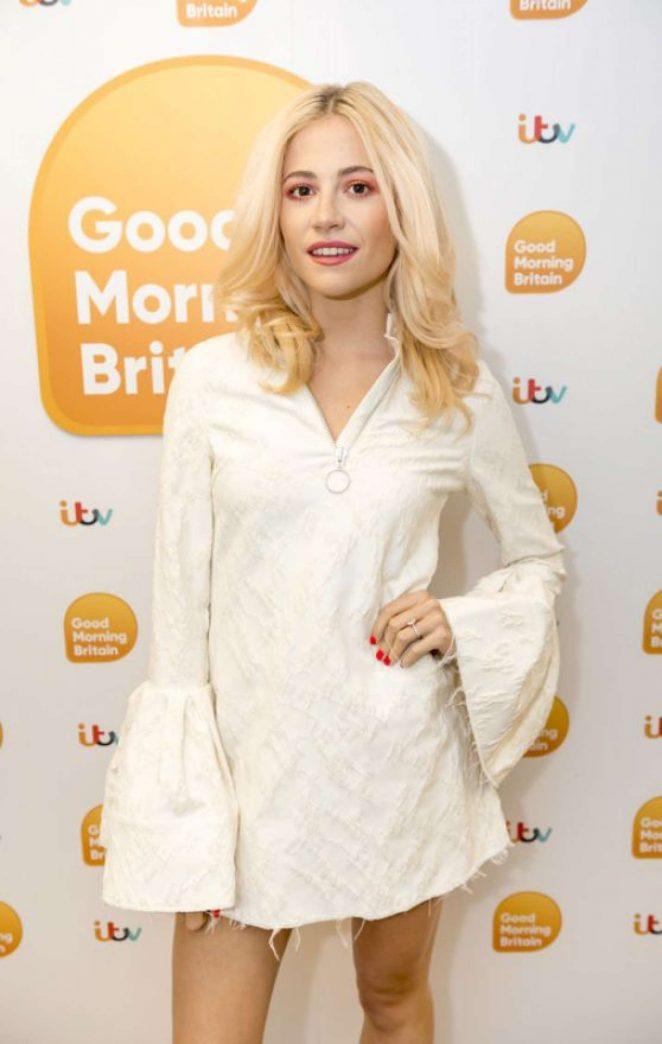 Pixie Lott on 'Good Morning Britain' TV Show in London