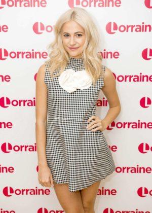 Pixie Lott on Lorraine TV Show in London