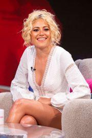 Pixie Lott - On the Lorraine TV show in London
