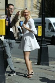 Pixie Lott out and about in London
