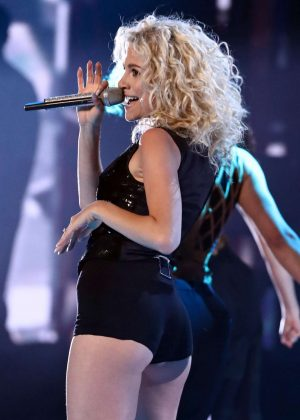 Pixie Lott - Performing Live On 'The Voice' TV Show Finale in London
