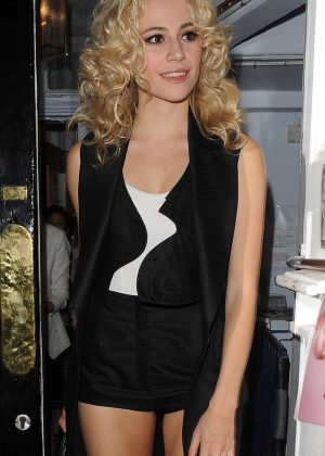 Pixie Lott - Seen While Leaving The Haymarket Theatre in London