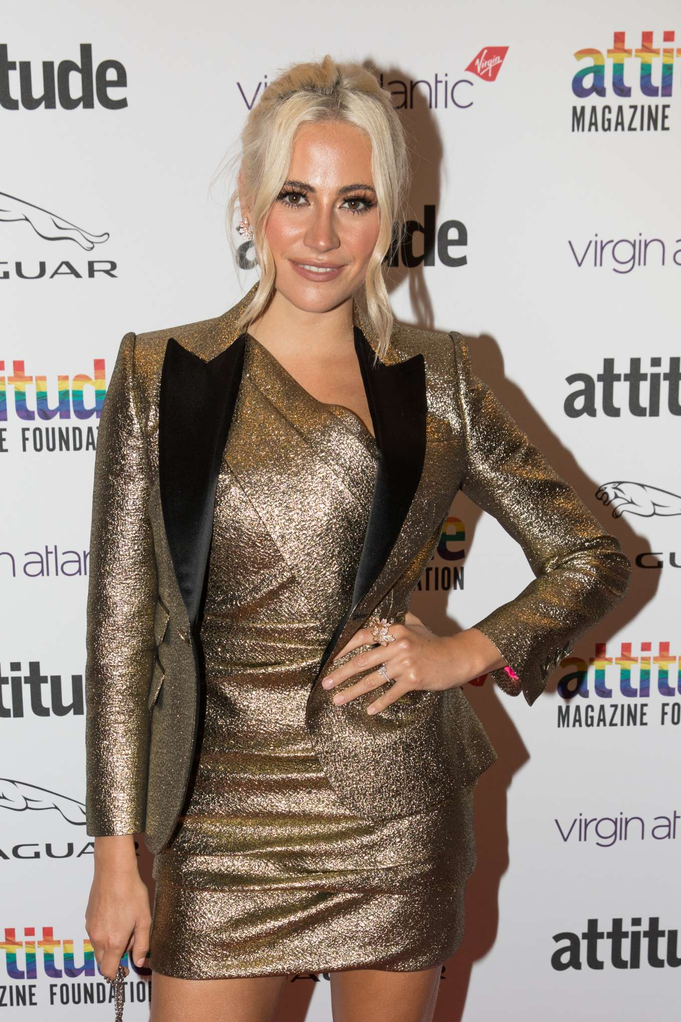 Pixie Lott - Virgin Atlantic Attitude Awards powered by Jaguar 2019 in London