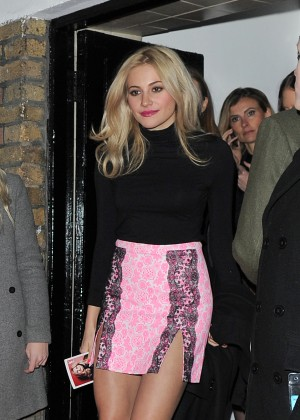 Pixie Lott - YSL Loves Your Lips Party in London