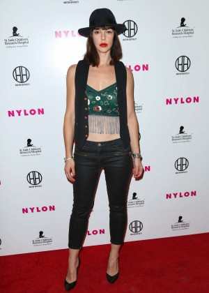 Pollyanna McIntosh - NYLON Magazine's Muses And Music Party in LA