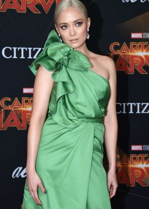 Pom Klementieff - 'Captain Marvel' Premiere in Los Angeles