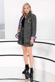 Pom Klementieff - Chanel show at 2020 Paris Fashion Week Womenswear FW 20-21