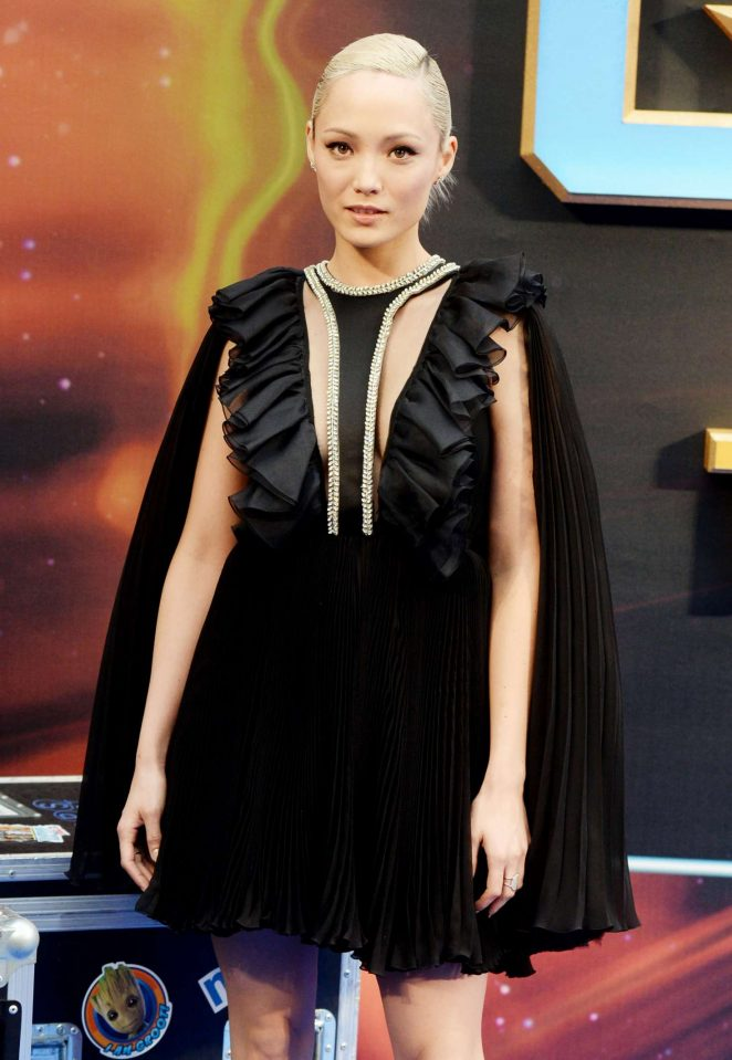 Pom Klementieff - 'Guardians of the Galaxy Vol.2' Premiere in London