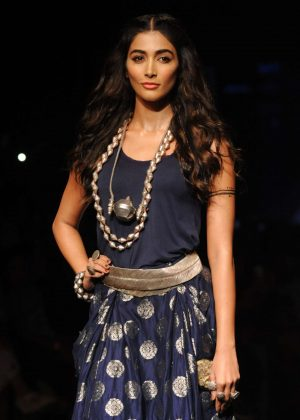 Pooja Hegde - Lakme Fashion Week 2016 in Mumbai