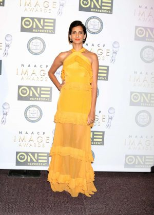 Poorna Jagannathan - Non-Televised 48th NAACP Image Awards in Pasadena