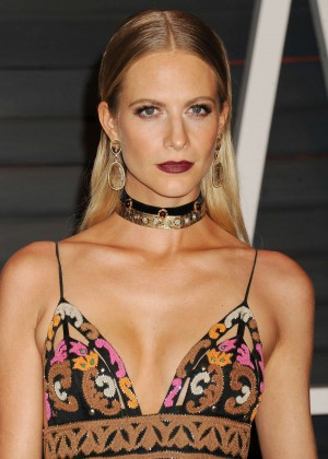 Poppy Delevingne - 2015 Vanity Fair Oscar Party in Hollywood