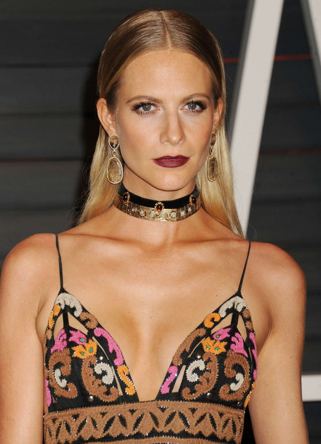 Poppy Delevingne – 2015 Vanity Fair Oscar Party in Hollywood