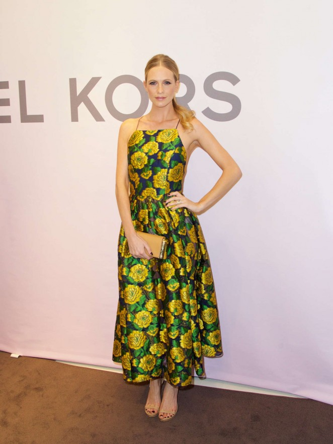 Poppy Delevingne at Michael Kors Fashion Event in NYC