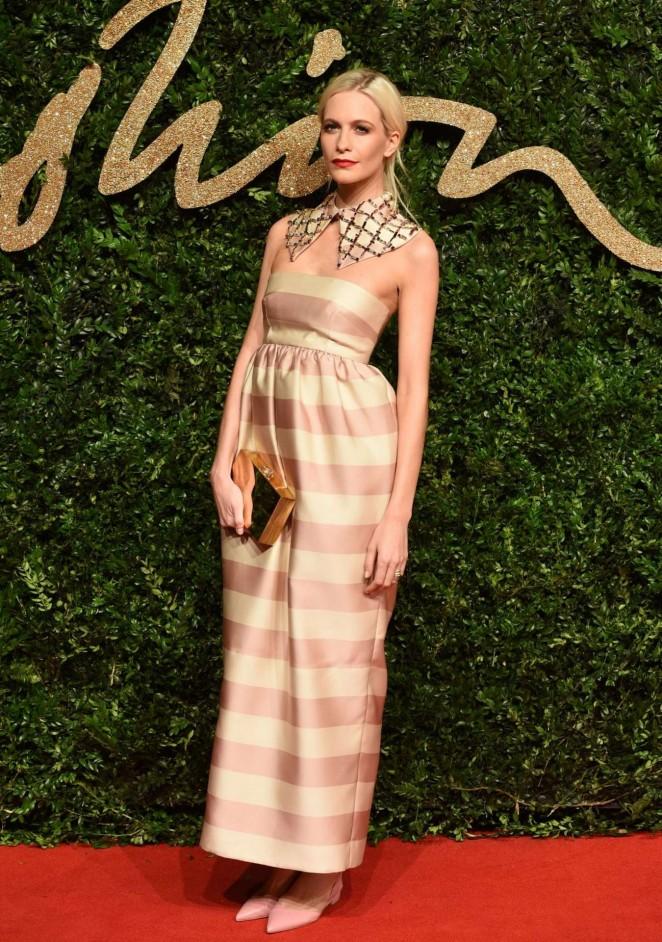 Poppy Delevingne - British Fashion Awards 2015 in London