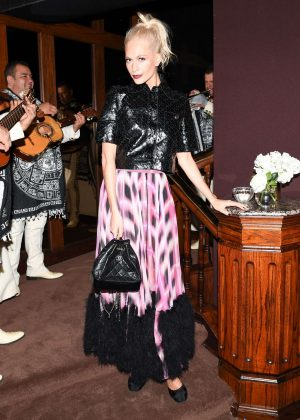 Poppy Delevingne - Charles Finch and Chanel Annual Pre-Oscar Awards Dinner in LA