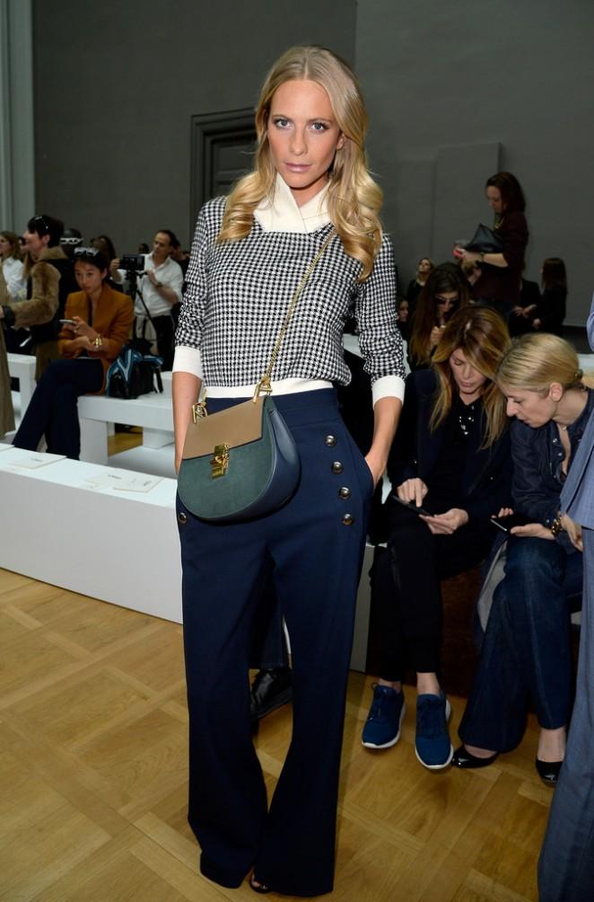 Poppy Delevingne - Chloe Fashion Show 2015 in Paris