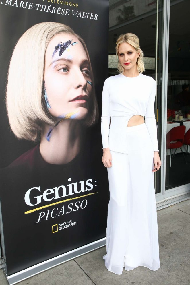 Poppy Delevingne – 'Genius: Picasso' TV Show Dinner and Conversation in LA
