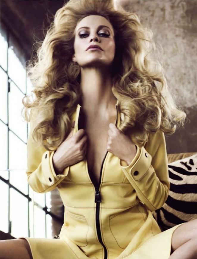 Poppy Delevingne - Glamour Italy Magazine (February 2015)