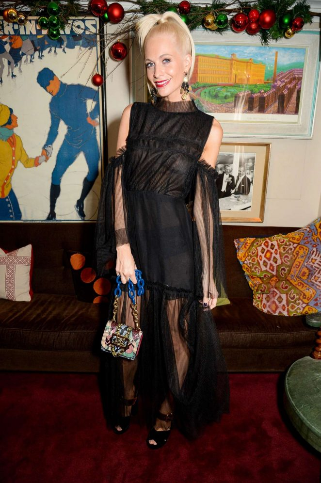 Poppy Delevingne - LOVE Magazine Christmas Party in London