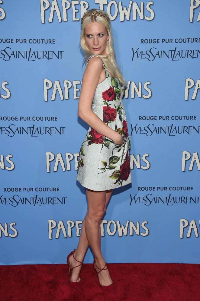 Poppy Delevingne - 'Paper Towns' Premiere in NYC