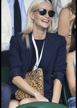 Poppy Delevingne - Wimbledon Tennis Championships 2017 in London