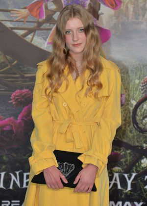 Poppy Lee Friar - 'Alice Through The Looking Glass' Premiere in London